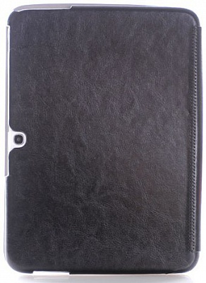 Чехол KLX England Series Retro Leather Flip Cover Case for Samsung Galaxy Tab 3 10.1 P5200/P5210 Bla - ITMag