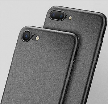 Чехол Baseus Meteorit Case iPhone 7 Black (WIAPIPH7-YU01) - ITMag