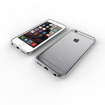 Patchworks Alloy X Super Slim iPhone 6/6S Space Grey (9103) - ITMag