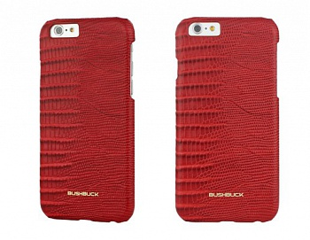 Чехол Bushbuck BARONAGE LIZARD Genuine Leather for iPhone 6/6S (Red) - ITMag