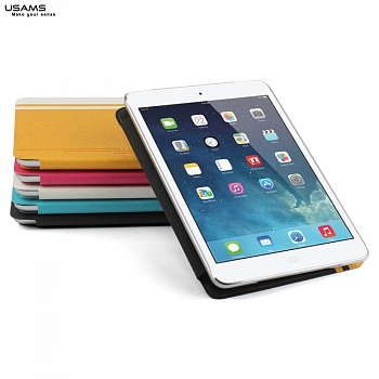 Чехол USAMS Jazz Series for iPad Air Smart Slim Leather Stand Cover White - ITMag