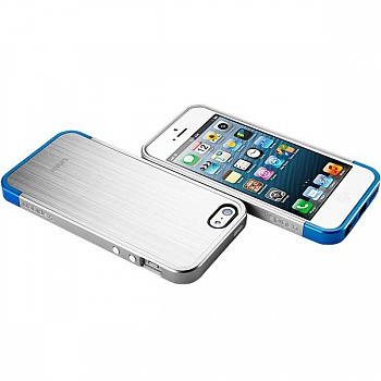 Чехол-накладка SGP Case Linear Blitz Series Satin Silver for iPhone 5/5S (SGP10119) - ITMag