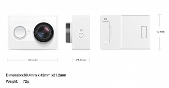 Xiaomi Yi Sport White Basic Edition - ITMag