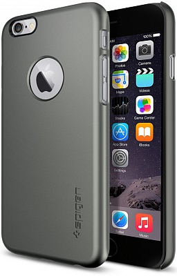 "Чехол SGP Case Thin Fit A Series Gun Metal for iPhone 6/6S 4.7"" (SGP10944) - ITMag"