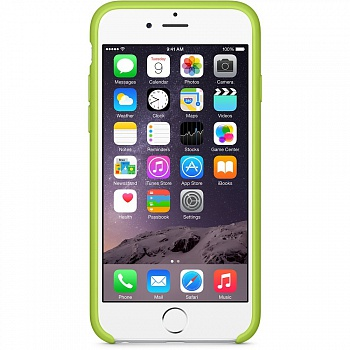 Apple iPhone 6 Silicone Case - Green MGXU2 - ITMag