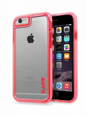 Чехол LAUT FLURO для iPhone 6 - Pink (LAUT_IP6_FR_P) - ITMag