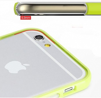 "Бампер ROCK Duplex Slim Guard для Apple iPhone 6 Plus/6S Plus (5.5"") (Зеленый / Green) - ITMag"