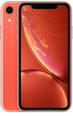 Apple iPhone XR Dual Sim 128GB Coral (MT1F2) - ITMag