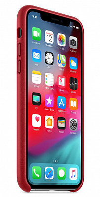 Apple iPhone XS Max Leather Case - PRODUCT RED (MRWQ2) - ITMag