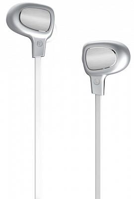 Bluetooth гарнитура Baseus B15 Seal Bluetooth Earphone Silver/White (NGB15-02) - ITMag