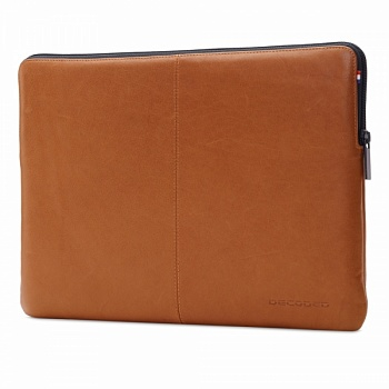 "DECODED Leather Slim Sleeve with Zipper for MacBook 12"" Brown (D4SS12BN) - ITMag"