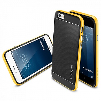 "Чехол SGP Case Neo Hybrid Series Reventon Yellow for iPhone 6/6S (4.7"") (SGP11034) - ITMag"