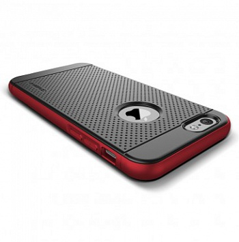Verus Iron Shield case for iPhone 6/6S (Black-Red) - ITMag