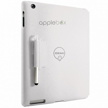 Ozaki iCoat Notebook+ White for iPad 4/iPad 3/iPad 2 (IC509WH) - ITMag