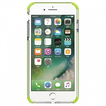 Чехол Baseus Armor Case для iPhone 7 Green (WIAPIPH7-YJ06) - ITMag
