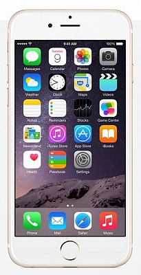 Apple iPhone 6 128GB Gold (Factory Refurbished) - ITMag