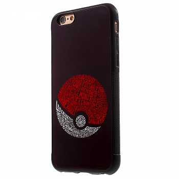 PC + TPU чехол EGGO Pokemon Go для iPhone 6/6S (Pokeball) - ITMag