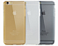 "TPU чехол ROCK Slim Jacket для Apple iPhone 6/6S (4.7"") (Золотой / Transparent Gold) - ITMag, фото 5"