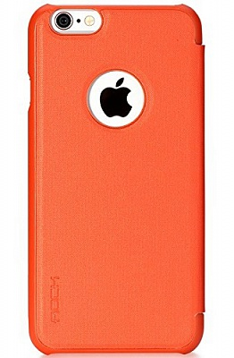 "Чехол (книжка) Rock Rapid Series для Apple iPhone 6/6S (4.7"") (Оранжевый / Orange) - ITMag"