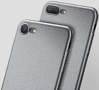 Чехол Baseus Meteorit Case iPhone 7 Plus Grey (WIAPIPH7P-YU0G) - ITMag