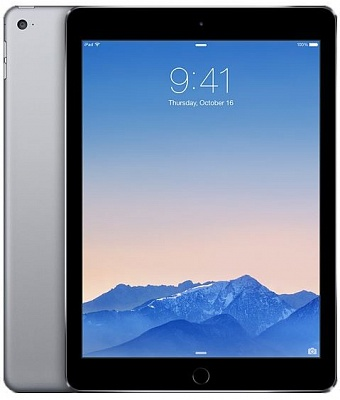 Apple iPad Air 2 Wi-Fi + LTE 64GB Space Gray (MH2M2, MGHX2) UA UCRF - ITMag