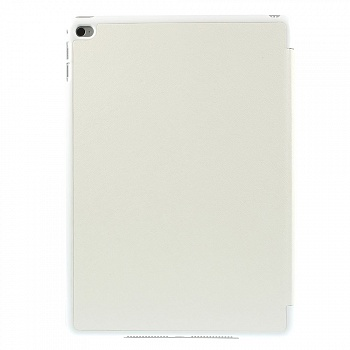 Чехол EGGO для iPad Air 2 Cross Texture Origami Stand Folio - White - ITMag