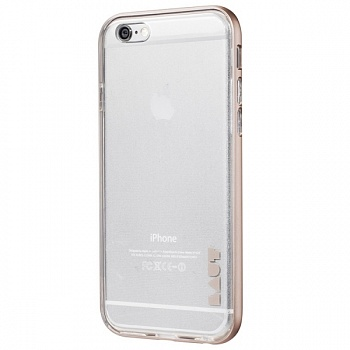 Бампер LAUT EXO-FRAME Aluminium bampers для iPhone 6/6S - Gold (LAUT_IP6_EX_GD) - ITMag