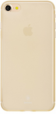 Чехол Baseus Slim Case For iphone7 Transparent Gold (WIAPIPH7-CT0V) - ITMag