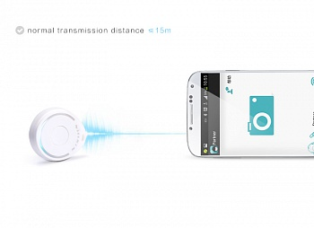 Bluetooth брелок Nillkin Anti-lost Anti-theft для iOS и Android White - ITMag