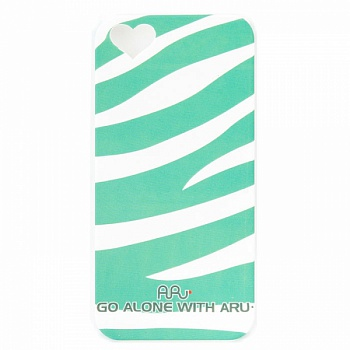 Чехол ARU для iPhone 5S Zebra Stripe Green - ITMag