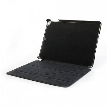 Чехол EGGO Tri-fold Cross Pattern Leather Case for iPad Air Black - ITMag