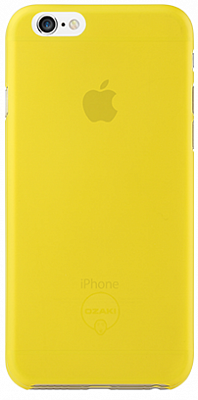 Ozaki O!coat 0.3 Jelly Yellow for iPhone 6/6S (OC555YL) - ITMag