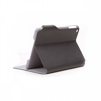 Кожаный чехол ROCK Flexible для Apple IPAD mini (Черный / Dark Grey) - ITMag