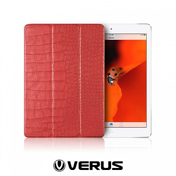 Чехол Verus Crocodile Leather Case for iPad  Air (Pink) - ITMag