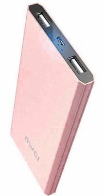 Awei Power Bank P87k 8000mAh Rose Gold - ITMag