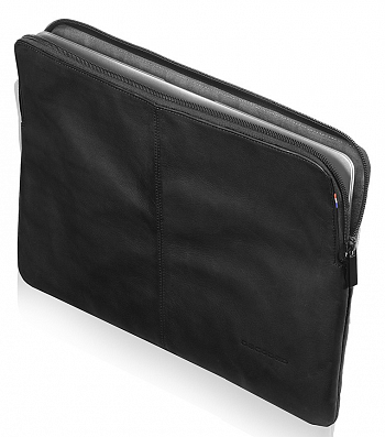 "DECODED Basic Sleeve for Macbook 13"" Black (D3SZ13BK/D4SS13BK) - ITMag"