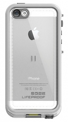 Чехол Lifeproof iPhone 5/5S nuud case white/clear - ITMag
