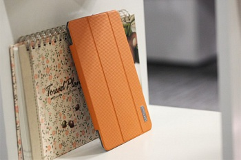 Чехол (книжка) Rock Elegant Series для Apple IPAD mini (RETINA) (Оранжевый / Orange) - ITMag