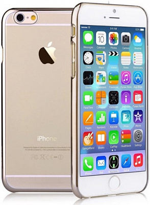 Чехол Devia для iPhone 6/6S Glimmer Champagne Gold - ITMag