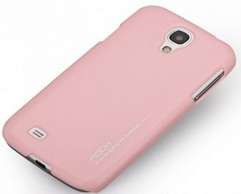 Чехол ROCK Ethereal Shell Plastic для Samsung Galaxy S4 i9500/i9505 pink  - ITMag
