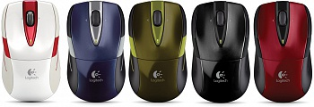 Logitech M525 Wireless Mouse (Black/Red) - ITMag