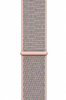 Apple Watch Series 4 GPS 44mm Gold Aluminum w. Pink Sand Sport Loop - Gold (MU6G2) - ITMag