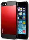 Чехол-накладка SGP Case Saturn Metal Red for iPhone 5/5S (SGP10143) - ITMag